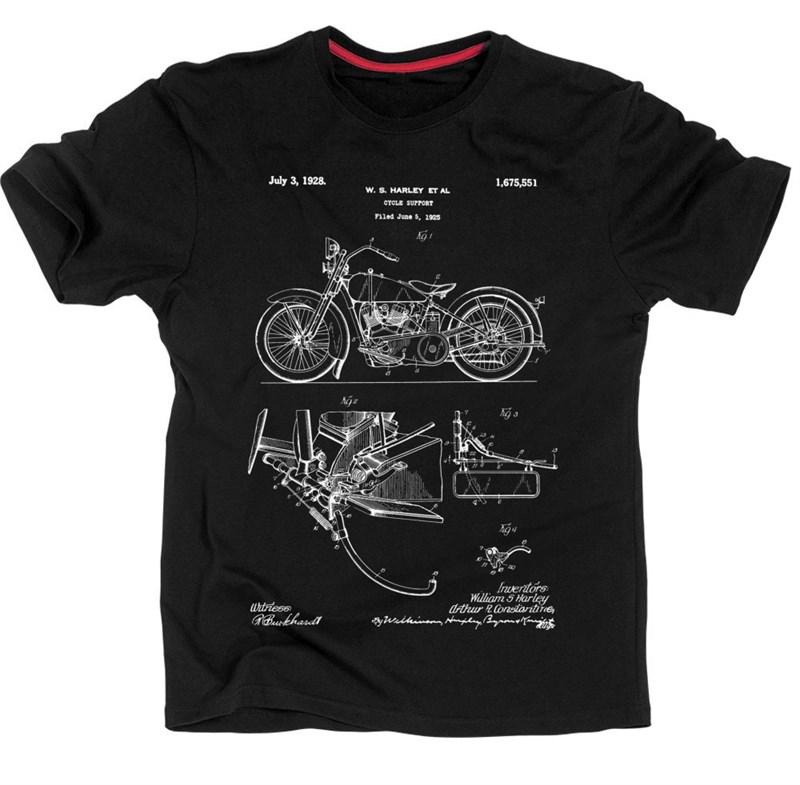 Патент Мотоцикл Harley 1928 - фото 267741
