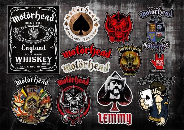 Стикерпак (Набор наклеек) Motorhead#1 - фото 269970