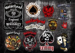 Стикерпак (Набор наклеек) Motorhead#1