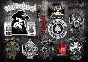 Стикерпак (Набор наклеек) Motorhead#2