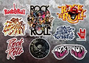Стикерпак (Набор наклеек) Rock`n`roll#2