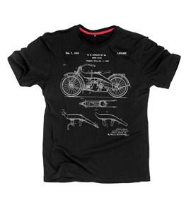 Патент Мотоцикл Harley 1924